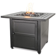 Slat Top Gas Burning Fire Pit