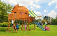Fantasy Tree House Jungle Gym