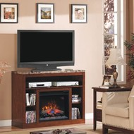 Classic Flame Adams Home Theater Electric Fireplace Package