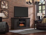 Classic Flame Ridgefield Home Theater Electric Fireplace Package