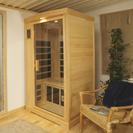 1 Person Deluxe Infrared Sauna