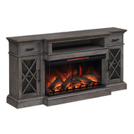 Classic Flame Hamilton Home Theater Electric Fireplace Package