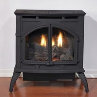 Empire Medium Ventless Gas Stove - Remote Ready - Natural Gas