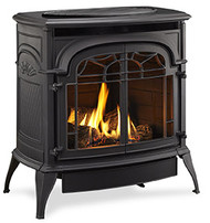 Monessen Ventless Gas Stove - Remote Ready - Natural Gas or Propane
