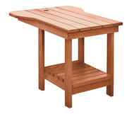 Tete-A-Tete Table for Upright Adirondack Chair