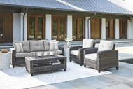 Cloverbrooke 4 Piece Deep Seating Set