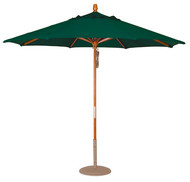 9 Ft. Activa Wood Market Umbrella